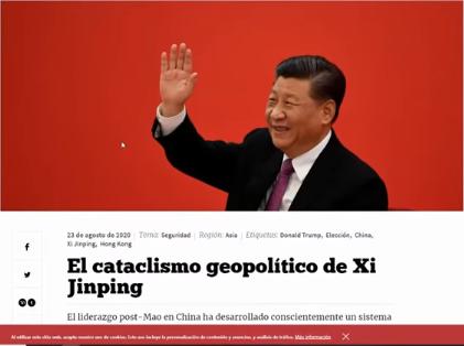 Geoestrategia con China
