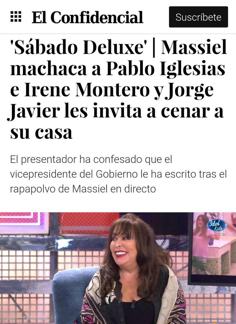Masiel gana a Sanchez en tv
